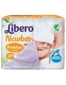 LIBERO TOUCH PRE-MATURE 2-5KG 24PZ PANNOLINO