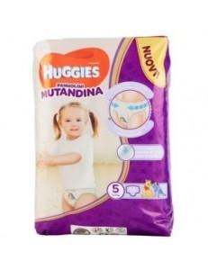 HUGGIES PANNOLINO MUTANDINA TG.5 KG 12-17 PZ.14