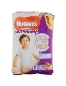 HUGGIES PANNOLINO MUTANDINA TG.6 KG 15-25 PZ.13