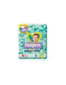 PAMPERS BABY DRY 7-18 KG MAXI
