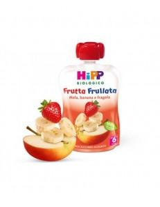 HIPP FRUTTA FRULLATA MELA BANANA E FRAGOLA 90GR