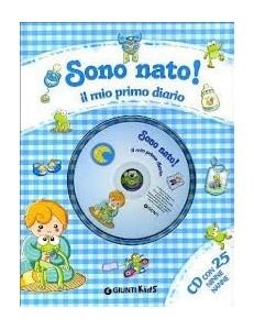 SONO NATO IL MIO PRIMO DIARIO CON CD