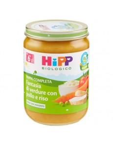 HIPP PAPPA COMPLETA FANTASIA DI VERDURE CON POLLO E RISO 19