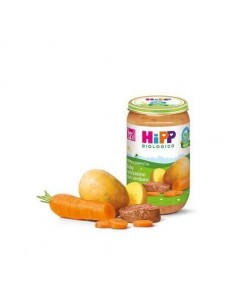 HIPP PAPPA COMPLETA BABY SPEZZATINO CON VERDURE 250GR
