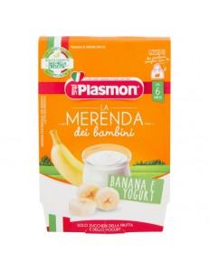 PLASMON MERENDA BANANA YOGURT 2PZ 120GR