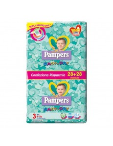 pampers baby dry 3 pacco convenienza