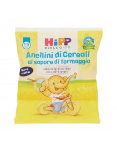 HIPP ANELLINI DI CEREALI AL FORMAGGIO 25GR