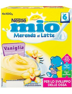 NESTLE MIO MERENDA SEMOLINO VANIGLIA 4x100GR