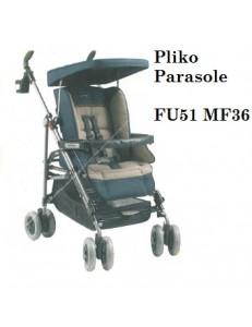 PLIKO P3 C/PARASOLE PASSEGGINO PEG PEREGO