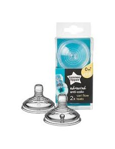 TOMMEE TIPPEE 2 TETTARELLE ANTICOLICA FLUSSO VARIABILE 0M+